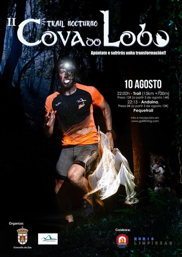 II Trail Nocturno Cova do Lobo